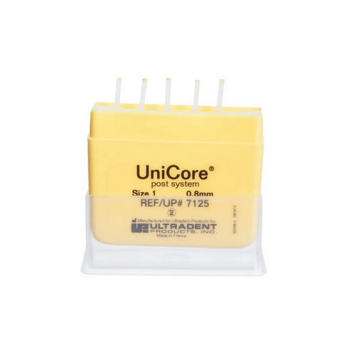 UniCore Post Size 1 (0.8mm)  желтые